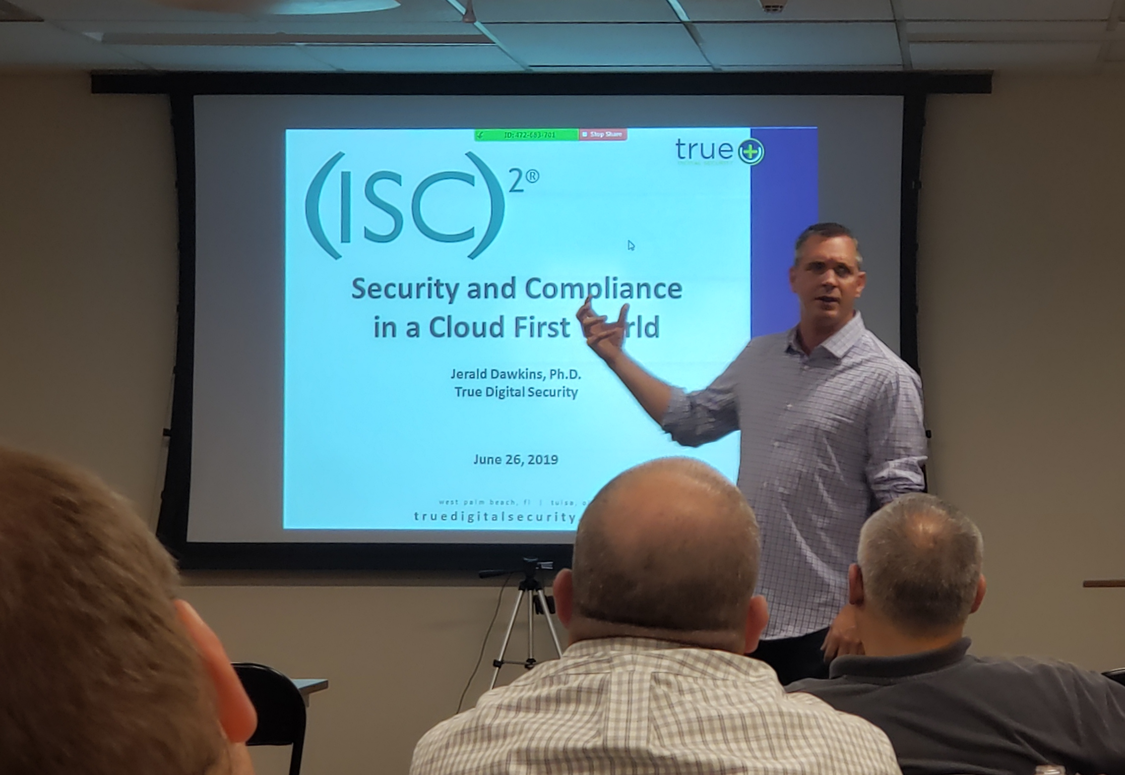 Meeting – Security and compliance in a cloud first world